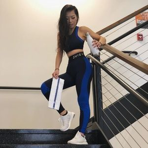 Other - Blue Juicy Couture Fitness Outfit